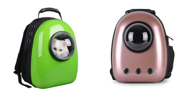 accfcb502e9 Their eco-friendly airline approved designs come in plenty of different  colors! Carry your cat in style in a safe, durable, and fun backpack.