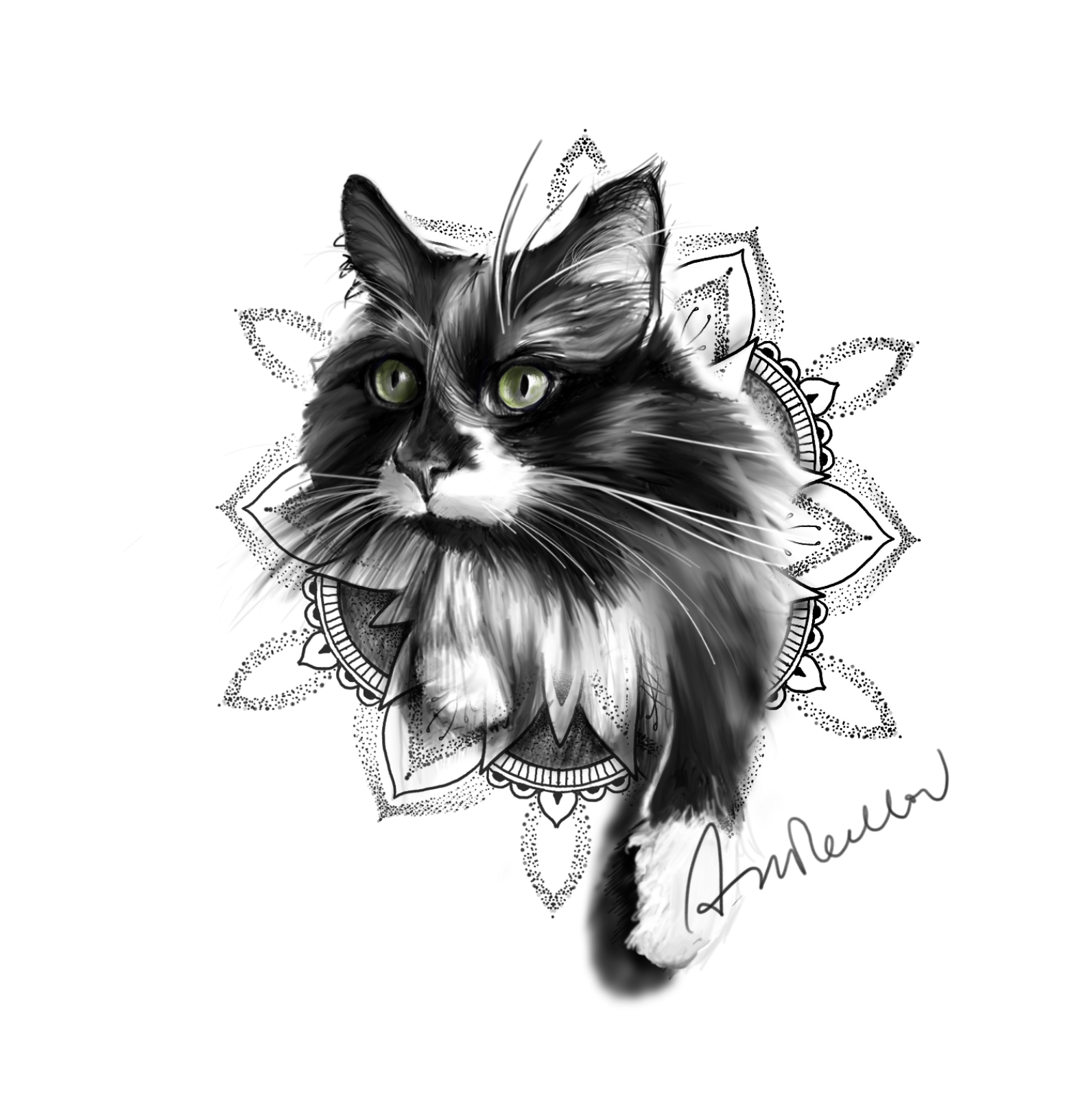 3d24625ef9f59 WIN a Tattoo Design of Your Cat - The Purrington Post